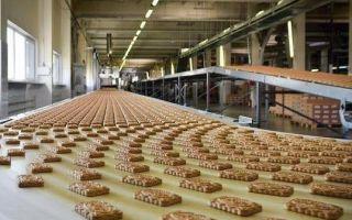 Производственные процессы в кондитерском комбинате